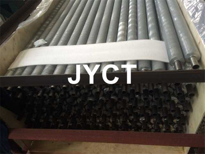 G Type Embeded Fin Tube For Heater Parts SA179 SMLS Corrosion Resistance