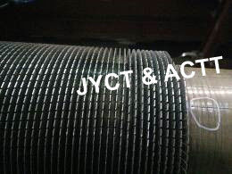 Helically Wound Welded Serrated Fin Tube For HRSG Boiler / Fired Heater