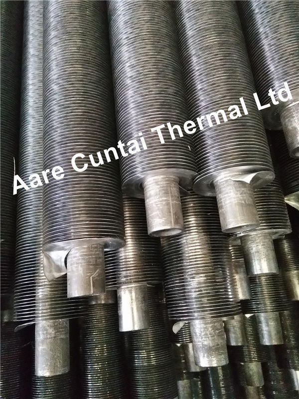 Carbon Steel Embeded G Type Fin Tubes , Heat Exchanger Finned Tubes