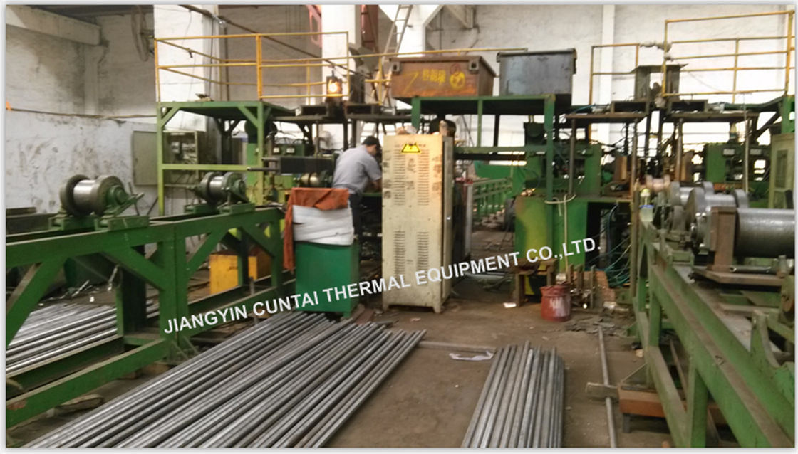 Square H / Double H Boiler Fin Tube , Longitudinal Heat Exchanger Finned Tubes
