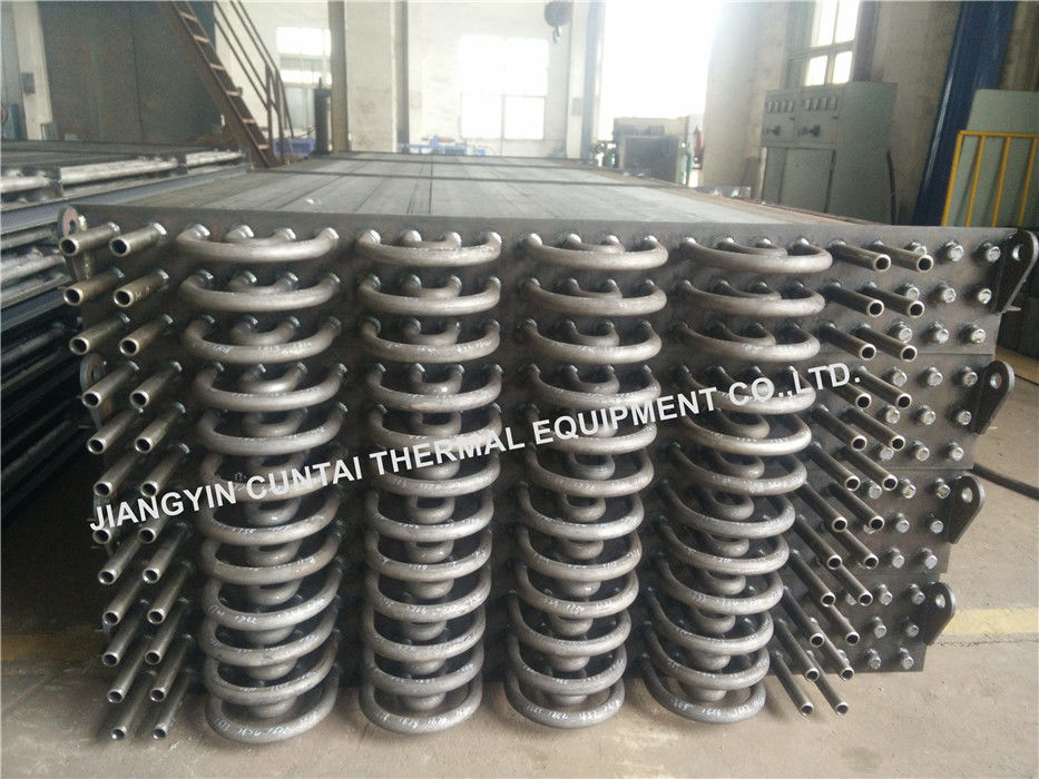 SA192 SMLS Seamless HH Square Fin Tube For Waste Heat Recovery Unit