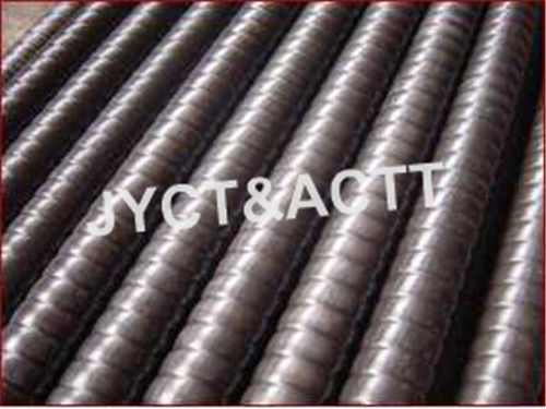 Corrugated Metal Tube For Petrochemical / Paper Making / Building Heating